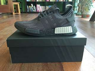 Adidas NMD R1 'Black Olive' limited edition from Footlocker US