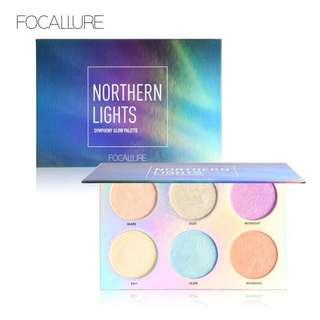 🦋FOCALLURE Highlight Makeup Palette Glitter Bronzer Powder🦋