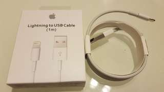 Apple Lightning Cable 1m / 2m