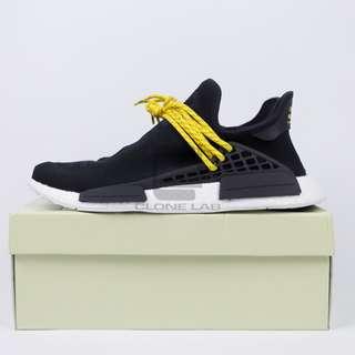 "Adidas Human Race NMD ""Pharrell"" Black/Yellow (UK10/US11)"