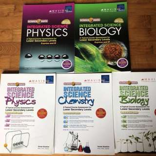 Integrated Science Assessment Books