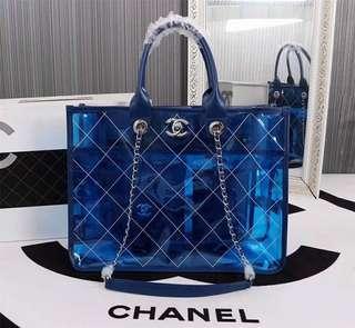 Chanel Transparent Bag 39cm AUTHENTIC GRADE