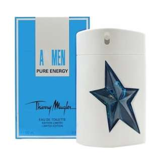 THIERRY MUGLER A MEN PURE ENERGY EDT FOR MEN 100ML