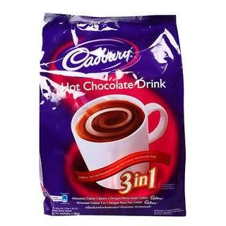 Cadbury 3in1 Hot Chocolate Drink