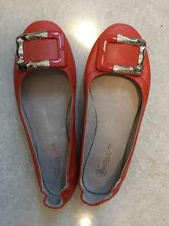 Vanilla suite flat shoes 舒服