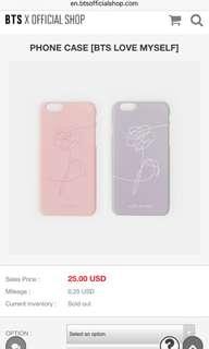 [WTB] [BTS LOVE MYSELF] Phone Case