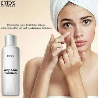 Ertos facial wash acne