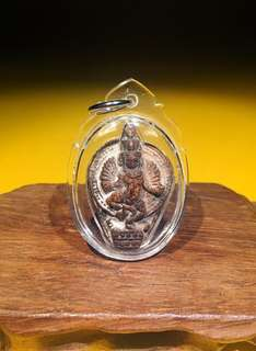 Phra Narai ( Vishnu ) God Of Fortune By Famous Luang Phor Suang Brings Great Windfall Accumulate Fortune Successy