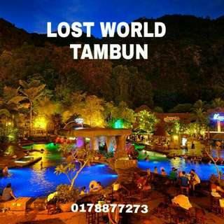 Lost World of Tambun e-tickets