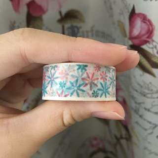 Floral Flower Washi Tape Masking Tape