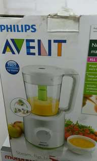 Philips AVENT SCF870/21 Combined Baby Food Steamer & Blender