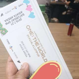 WTS WANNAONE IN KL TICKET