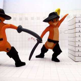 Puss In Boots With Sword - Happy Meal Mc Donald