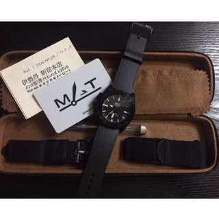 Mat Watch's AG6 1 DEMINEUR self-winding Military (Full Set)