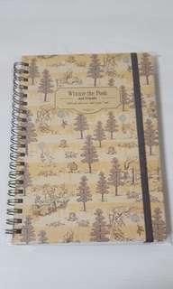Winnie the pooh notebook