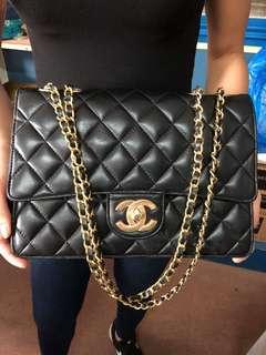 Vintage Chanel Sling Golden Hardware