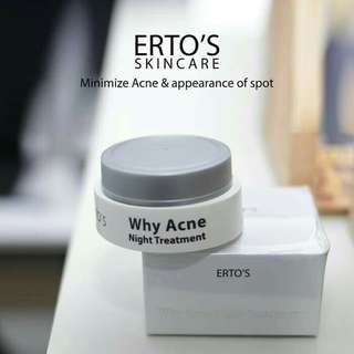 Ertos night cream acbe