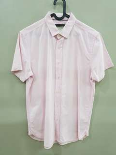 Padini Authentics Shirt Pink Size M
