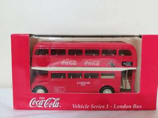 可口可樂 鐵鑄 巴士