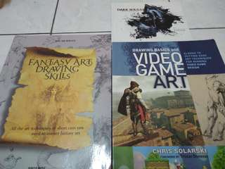Video game art books