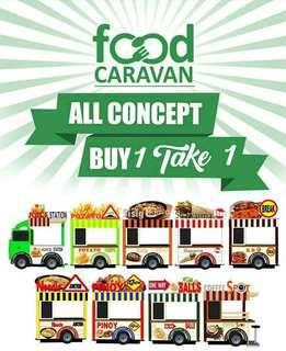 Food cart Franchise buy 1 get 1