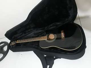 Ibanez V70CE-BK-27-01 Acoustic Electric Guitar w/ FREE GUITAR CASE & GUITAR CORD