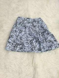 Love bonito pattern skirt
