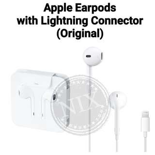 Apple Earpods with Lightning Connector and Jack Adapter