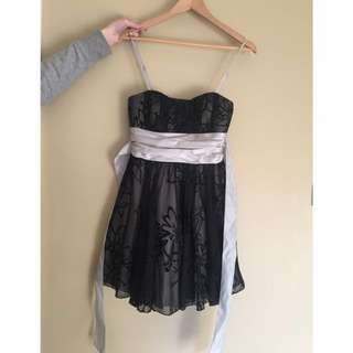 Pretty Black Formal Dress size medium