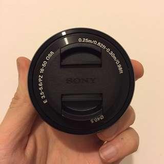 Lensa Kit Sony 16-50mm Black Bandung