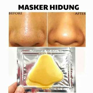 Masker gold hidung