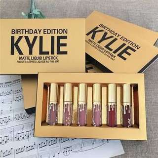 Kylie mini birthday edition matte lipstick