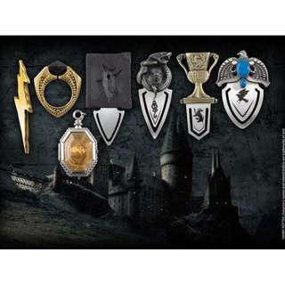 Official Harry Potter Horcrux Bookmark Set by Noble Collection