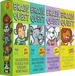 Brain Quest 4 sets
