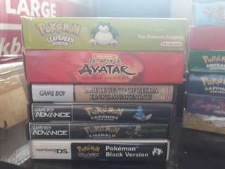 GAMEBOY/ DS CUSTOM CASES AND BOX