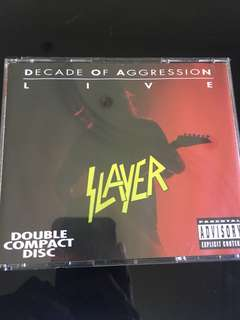 Slayer live - decade of aggression 1993 (mint)