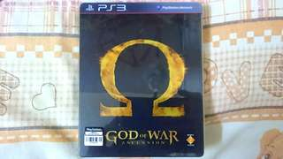 PS3 Game: GOD OF WAR ASCENSION ( Traditional Chinese & English Version). 100% WORKING GAME!!!  ** PLEASE REPLY IN ENGLISH!!! 🤗 **