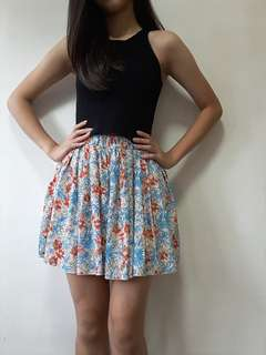 [NEW] Cute Floral Skirt