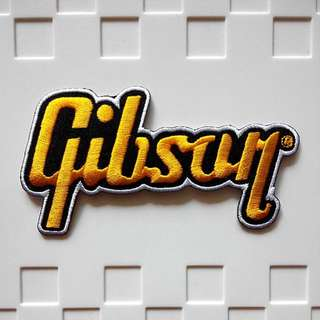 Gibson Guitar Logo Iron On Patch