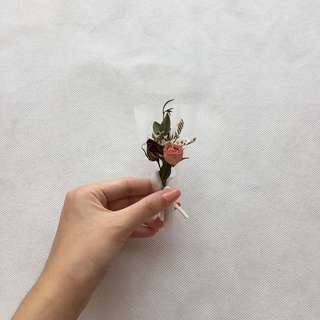 Dried Baby Rose Flower (Mini Bouquet)