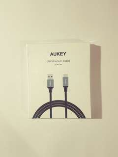 AUKEY USB C cable