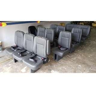 NISSAN URVAN 1 SET 4ROW X12 SIAP PASANG RM5000