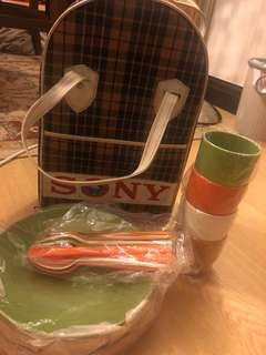 Sony Picnic Set Collectable