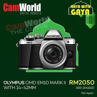 OLYMPUS OMD EM10 MK II Kit 14-42mm
