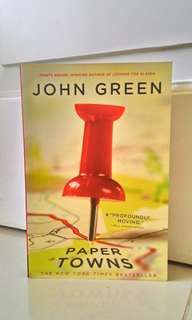 Buku The New York Times Bestseller ~ Paper Towns