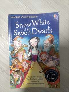 USBORNE young reading - snow white and the seven dwarfs