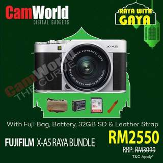 FUJIFILM X-A5 KIT BUNDLE PROMOTION