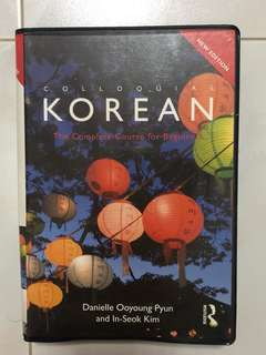 Colloquial Korean, complete course for beginners