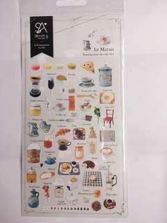 Food stickers From Korea 手帳貼紙