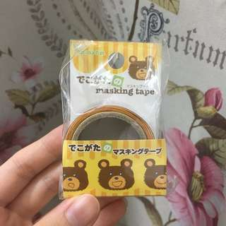 Deco Gata Irregular Shaped Washi Tape Masking Tape Bear